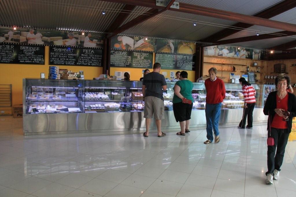 Cheese Factory Interior