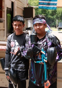 Local Maui Paintball dudes are ready for action