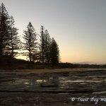 Sunset shelly beach resized