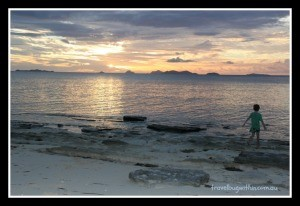 Navini Island Sunset