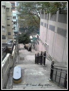 Looking down Ladder Street