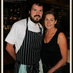 Kaylene Napoli and William Ennis at the Italian at the Pacific