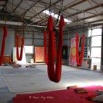 Anti gravity yoga in Byron Bay