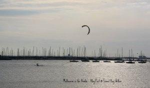 Kite Surfer at St Kilda Beach