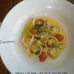 Donovans sweetcorn and goats cheese tortellini