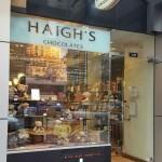 Haigh's Chocolates on Collins Street