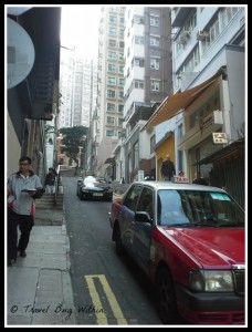 Narrow streets of Mid-levels