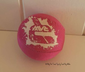 A skim ball - is an unusual addition but you will be happy you packed it!