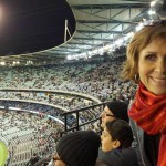 Excited to be at the MCG