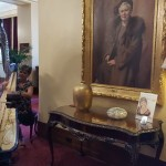 Nice touch by the Windsor Hotel - a harp being played in the lobby