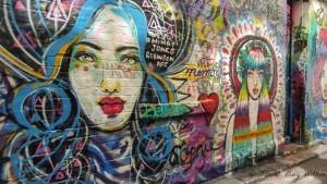 always enjoy the Graffiti art in Hozier Lane