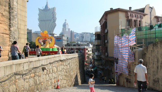 the old and the new of Macau