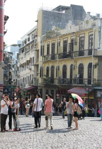 cobblestone side streets