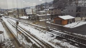 All I got to see at Iiyama Station