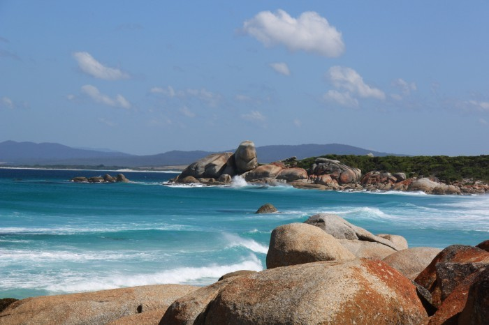 Photo of Turtle Rock Bay of Fires Tasmania
