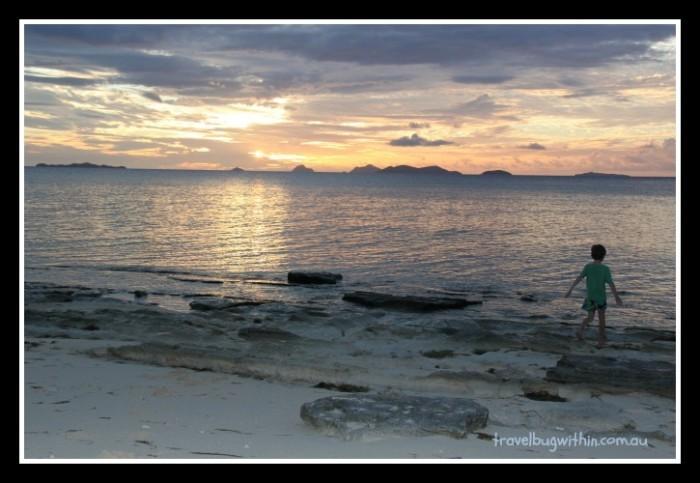 navini-sunset and charley