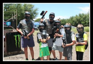 Aussie Paintball crew - ready for action!
