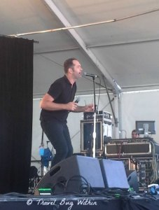 Mr Percival at the Surf Stage