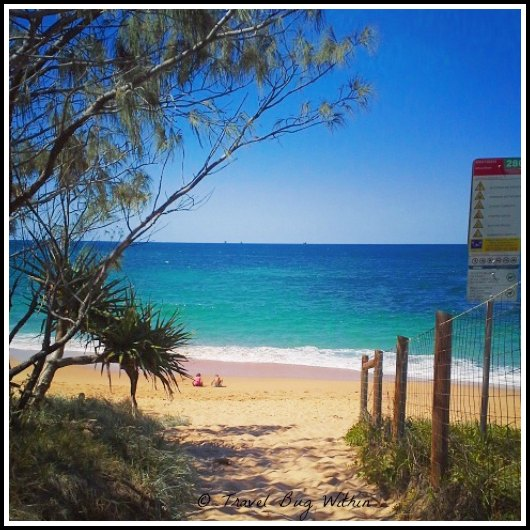 Shelly Beach looking enticing