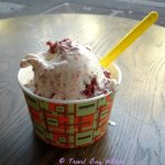 Messina ice-cream two scoop sundae in a cup BELLISIMO