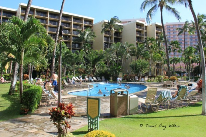 The smaller pool at Aston Ka'anpali Shores