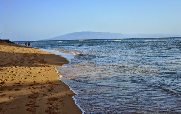 Ka'anapali Beach - without Hotel on the beach front!