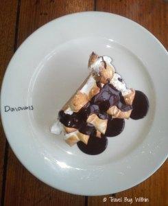 The perfect portion for Donovans' Bombe Alaska