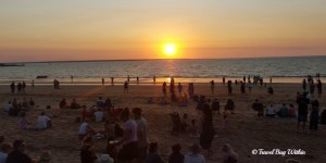 Mindil Beach sunset worshippers gather