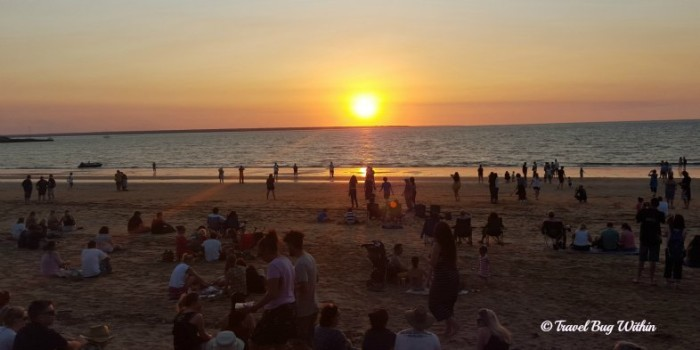 Mindil Beach sunset worshippers gather