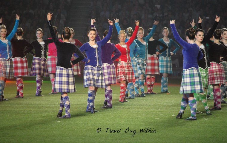 Highland Dancers at the Royal Tattoo