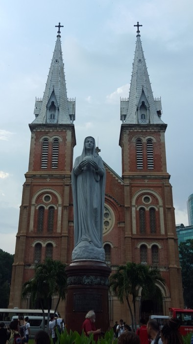 Saigon's Notre Dame Cathedral ©TravelBugWithin