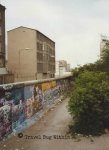 Section of the Berlin Wall near Checkpoint Charlie