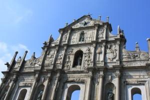 Facade of St Paul's