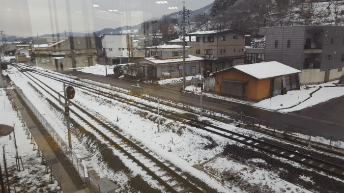 All I got to see at Iiyama Station