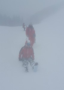 Low visibility and the Japanese ski rescuer
